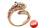 Effy Collection Panther 14k Pink Gold Ring style: 520426
