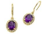 Genuine Amethyst Earrings by Effy Collection® style: 520002