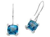 Genuine Blue Topaz Earrings by Effy Collection