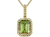 Genuine Peridot Pendant by Effy Collection® style: 520030