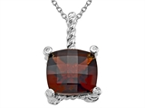 Genuine Garnet Pendant by Effy Collection®