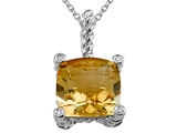 Genuine Citrine Pendant by Effy Collection® style: 520046