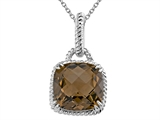Genuine Smoky Quartz Pendant by Effy Collection