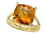 Genuine Citrine Ring by Effy Collection® style: 520060