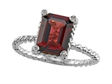 Genuine Garnet Ring by Effy Collection®