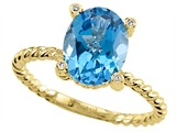 Genuine Blue Topaz Ring by Effy Collection® style: 520087