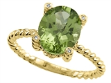 Genuine Peridot Ring by Effy Collection
