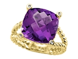 Amethyst Ring by Effy Collection