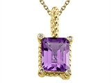 Amethyst Pendant by Effy Collection