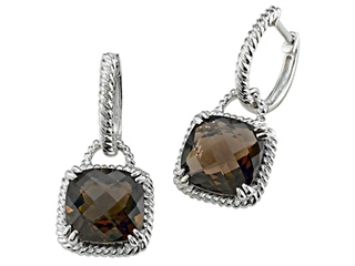 Genuine Smoky Quartz Earrings by Effy Collection(r)