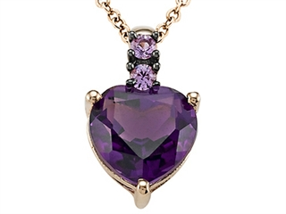 Genuine Amethyst Pendant by Effy Collection(r)