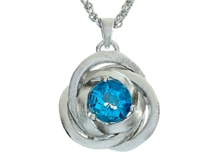 Balissima By Effy Collection Sterling Silver Blue Topaz Pendant