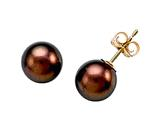 Carlo Viani South Sea Brown Pearl Earrings