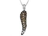 Carlo Viani® Brown Diamonds Pendant