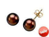 Carlo Viani® South Sea Brown Cultured Pearl Earrings style: C101-0226