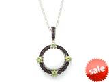 Carlo Viani® White Abalone Pendant style: C103-0344