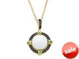 Carlo Viani® White Abalone Pendant style: C103-0345