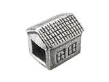 Zable™ Sterling Silver House Bead / Charm