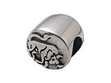 Zable Sterling Silver Zodiac-Taurus Bead / Charm