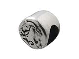 Zable Sterling Silver Zodiac-Capricorn Bead / Charm