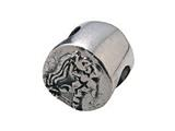 Zable™ Sterling Silver Zodiac-Aquarius Bead / Charm