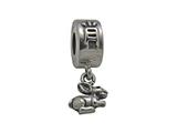 Zable Sterling Silver Chinese Zodiac-Rabbit Bead / Charm