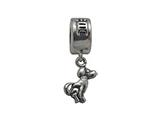 Zable Sterling Silver Chinese Zodiac-Dog Bead / Charm