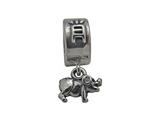 Zable Sterling Silver Chinese Zodiac-Pig Bead / Charm