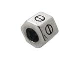 Zable™ Sterling Silver Stud Nut Spacer Bead / Charm