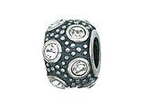 Zable Sterling Silver April Crystal Ball Bead / Charm