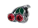 Zable Sterling Silver Cherries Pandora Compatible Bead / Charm