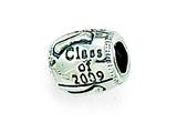 Zable™ Sterling Silver Class Of 2009 Bead / Charm