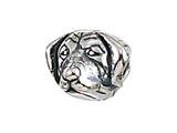 Zable Sterling Silver Golden Retriever Bead / Charm