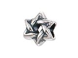 Zable™ Star Of David Bead / Charm style: BZ2059
