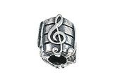 Zable Sheet Music Bead / Charm
