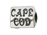 Zable™ Sterling Silver Cape Cod Pandora Compatible Bead / Charm style: BZ2114