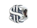 Zable Sterling Silver Dollar Sign Bead / Charm