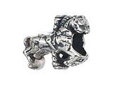 Zable Sterling Silver Carousel Horse Bead / Charm