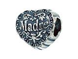 Zable Sterling Silver Madre Pandora Compatible Bead / Charm