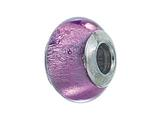 Zable™ Sterling Silver Murano Glass Birthstone June Pandora Compatible Bead / Charm
