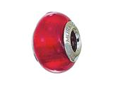 Zable™ Sterling Silver Murano Glass Birthstone July Pandora Compatible Bead / Charm style: BZ4007
