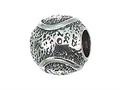Zable Sterling Silver Tennis Ball Pandora Compatible Bead / Charm