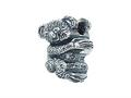 Zable Sterling Silver Koala Bear Bead / Charm