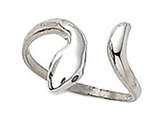 Sterling Silver Toe Ring Bypass Snake style: CGSS304