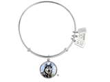 Wind And Fire Pet Collection Expandable Bangle With Husky Photo Charm style: CGWF758S