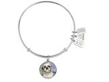Wind And Fire Pet Collection Expandable Bangle With Shih Tzu Photo Charm style: CGWF765S