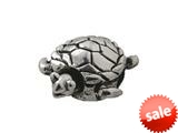 Zable™ Sterling Silver Turtle Bead / Charm