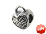 Zable™ Sterling Silver Heart Lock Bead / Charm