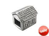 Zable™ Sterling Silver House Bead / Charm style: BZ0334