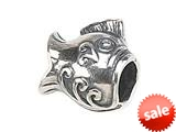 Zable™ Sterling Silver Ornate Fish Bead / Charm
